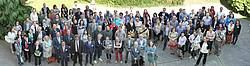 Photo showing delegates of the Landscape and Human Health Conference, Vienna 2017 (c) BFW S.Ette