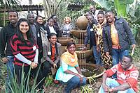 Photo showing participants of Training workshops for early and mid-career forest scientists across FORNESSA countries contribute to enhancing research competence and networking.