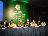 Representantes de Costa Rica, Argentina, Reino Unido, Finlandia, FAO, China, Uganda; 2009