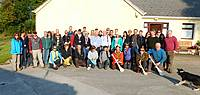 Photo showing Participants of Extension meeting Galway 2015