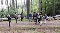 Photo showing Scientific study tour to the University Forest Enterprise in Kostelec nad Cernymi Lesy; 2016