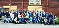 Photo showing Group photo at the 2018 conference; Sulva, Finland. Copyright: Christoph Hartebrodt