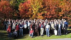 Photo showing Delegates of Seed Orchard Meeting 2007, Umeå.