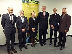 Photo showing GFEP Panel Members in New York - group picture