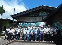 Photo showing APFW 2016: delegates during scientific study tour to Subic Bay and Mangroves.