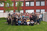Photo showing Participants of the joint 7.02.02/7.03.04 meeting in Uppsala, 2015.