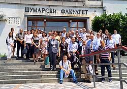 "Photo showing participants of ""Reforestation Challenges, Belgrade 2018"": Group picture. Photo by Vladan Ivetić/copyright Vladan Ivetić."