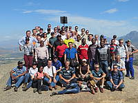 Photo showing participants of the Symposium on Silviculture and Dryland forests, 2015