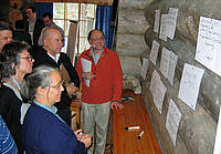 Photo showing Participants during discussions at International Symposium in Kuusamo, 2011.