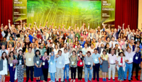 Photo showing 10th World Bamboo Congress - Participants.