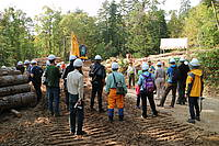 Photo showing Abies 2016 Post-conference tour to Hokkaido Forest