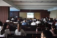 Photo showing Session during the 2017 ISSFM-CGC. Photo: Northeast Forestry University.