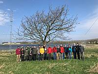 Photo showing Participants at Tree Motion and Wind Measurement Workshop, Roskilde, Denmark. Copyright: Ebba Dellwik, Danish Technical University