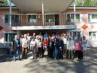 Photo showing Participants of Conservation of Forest Genetic Resources, 2015.
