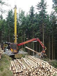 Gebirgsharvester Konrad Mounty 4000 – 1