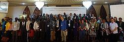 "Photo showing Participants of the 9.05.09 ""African forest policies and politics"" conference (AFORPOLIS 2018). © AFORPOLIS"