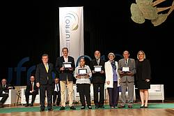 Photo showing IUFRO World Congress Host Scientific Award Winners. Photo by COC.