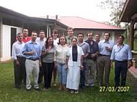 Participantes del Taller de Entrenamiento, marzo de 2007