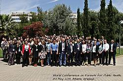 """World Conference """"Forests for Public Health"""", Athens 2019: Official Conference photo, Photo: ARTION Conference management."""