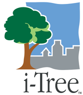 Photo showing the i-Tree logo. Since its release in 2006, there have been over 247,000 users of i-Tree tools in 131 countries.