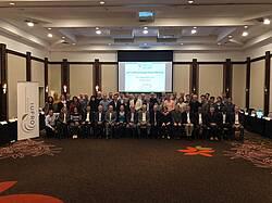 Photo showing IUFRO Enlarged Board Meeting 2019, Curitiba, Brazil
