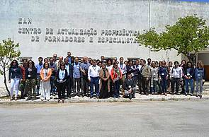 Photo showing Participants of AgroPine2016.