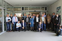 Photo showing Participants at the Faculty of Forestry and Wood Sciences of the Czech University of Life Sciences Prague; 2016