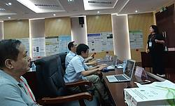 Biennial Research Group 7.01.00 meeting, Nanning 2019, session. Photo: Pierre Sicard.