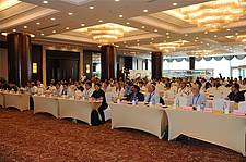 Photo showing Participants at the conference venue, ICPF 2018, Shenyang, China. Photo: Institute of Applied Ecology, Chinese Academy of Sciences, National Bureau to Construct Protection Forest in Northwest North & Northeast Regions of China, National Forestry and Grassland Administration