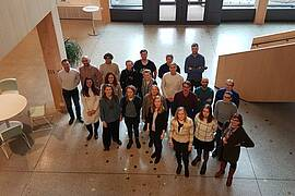 Photo showing PerForm group meeting in Uppsala, Sweden. Photo provided by PerForm