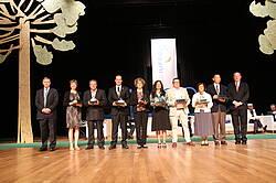 Photo showing IUFRO Scientific Achievement Award Winners. Photo by Morné Booij-Liewes, FABI.
