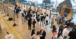 Photo showing 20th International Nondestructive Testing & Evaluation of Wood Symposium: Poster session and equipment demonstration. Copyright: Forest Products Society