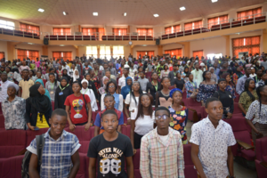 Photo showing a cross-section of students at the 2018 Northern Africa Regional Meeting of the International Forestry Students' Association at the University of Ilorin, Nigeria. Photo: from https://ifsa.net/ifsa-iufro-africa-book-project/.