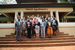 Photo showing participants during Nairobi meeting, © World Agroforestry (ICRAF)