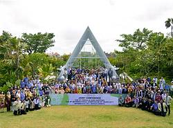 Photo showing Participants of the 9th Pacific Regional Wood Anatomy Meeting (PRWAC), 2017.