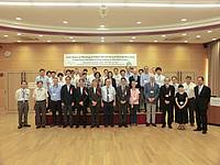 Photo showing a group photo of the Joint Regional Meeting participants.