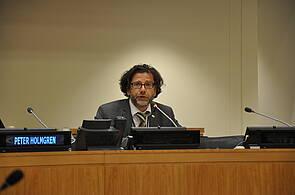 Photo showing GFEP Coordinator C Wildburger