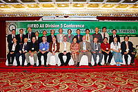 Photo showing 2007 All D5 Conference Taipei, organizing committee members