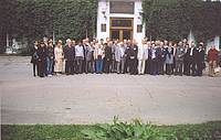 Photo showing Delegates at Saint Petersburg State Forest Technical Academy during IAWS-2009