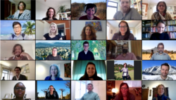 Photo showing the Participants of the 3rd (and virtual) Panel meeting, April 2020.