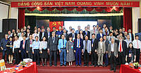 Photo showing Participants of Hanoi, November 2019. Photo: Vietnam Nation University of Forestry.