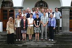 Photo showing Some of the authors of the assessment report photographed during the 2nd Expert Panel Meeting held in September 2008 in Turrialba, Costa Rica