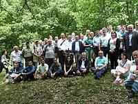 Photo showing Participants during scientific study tour; 2013.